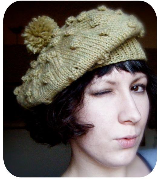 Irish Beret Knitting Pattern : Irish Eyes Beret prairiesque