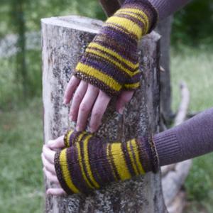 Bee's Knees Fingerless Gloves