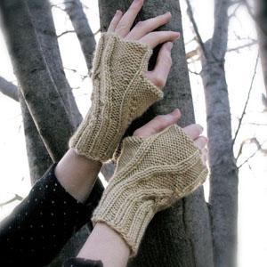 Wheatley Wristwarmers