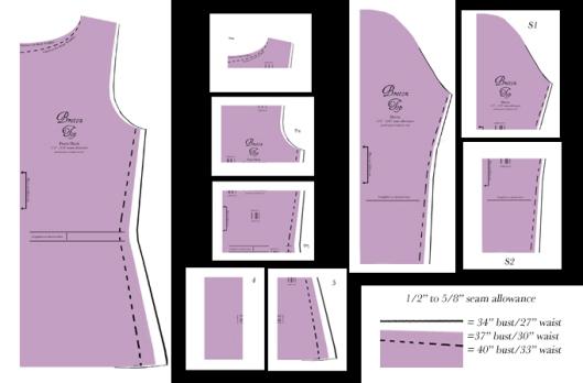 breton pattern layout